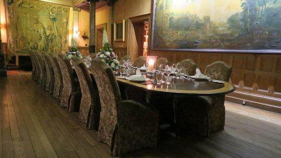 Glaslough, Irlanda: Family Dining Table