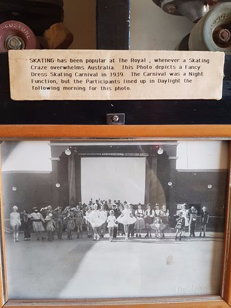 Royal Theatre: Photo of the rink on a dress up party night.