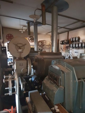 The Royal Theatre: Winton Movies Inc.: Projector room.