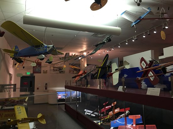 National Model Aviation Museum : Exhibit Hall
