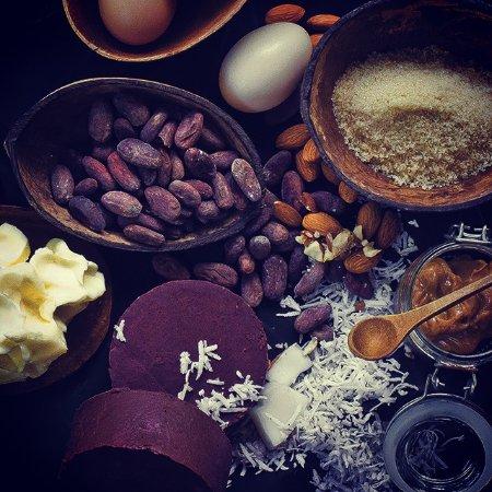 La Loma Jungle Lodge and Chocolate Farm: Coconut chocolate cake