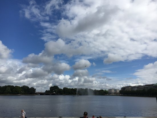 Alster Lakes : view of lake