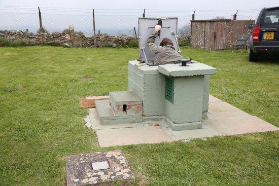 Broadway, UK: ROC Post aka Nuclear Bunker.