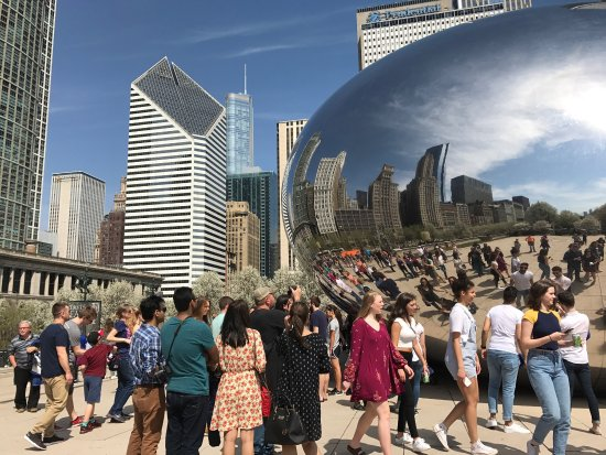 Photo of Monument / Landmark Cloud Gate at 201 E. Randolph St., Between Michigan Ave & Columbus Ave, Chicago, IL 60601, United States