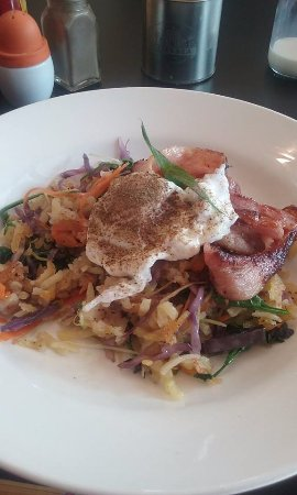 Lower Hutt, New Zealand: Bubble and squeak