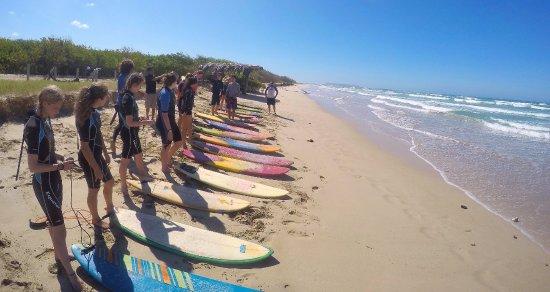 Puerto Villamil, Ekwador: Surf lesson