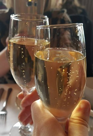 Grand Cafe: Champagne