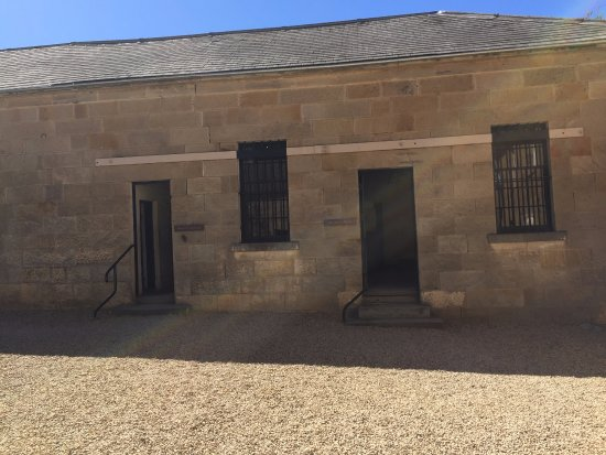 Richmond Gaol: Courtyard