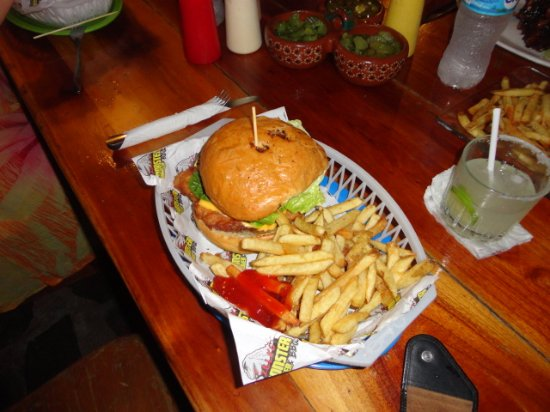 Zillas Monster Burger & BBQ Co.: For fish lovers, these fresh fish burgers are winners..