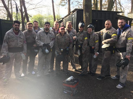 Delta Force Paintball Kegworth: Fantastic day!