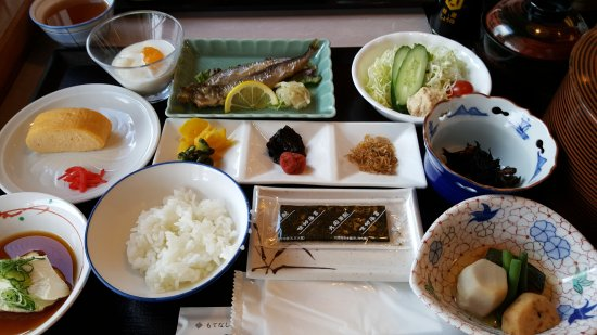 Kyoto Ryokan Shoei: Breakfast at the Ryokan