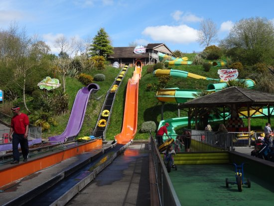 water slides picture of woodlands family theme park dartmouth