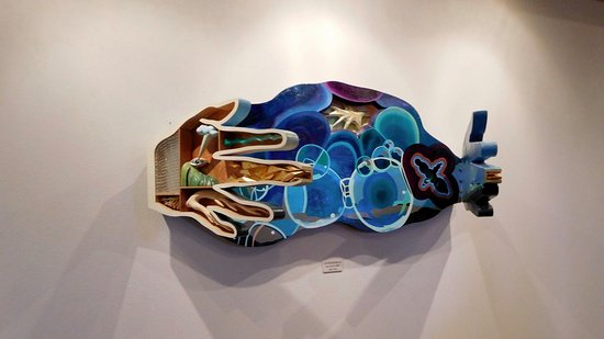 Del Mar College Art Gallery : This was my favorite exhibit.