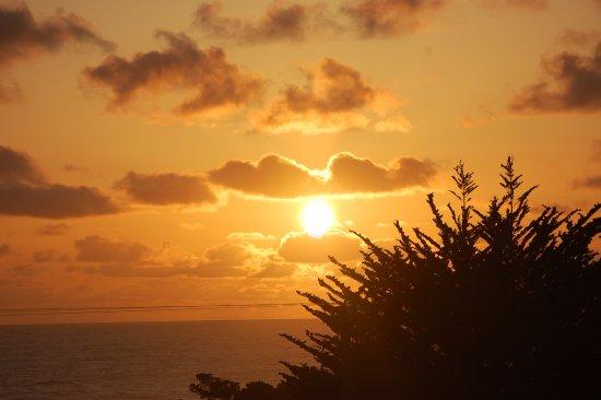 Little River, كاليفورنيا: Breathtaking Mendocino sunset!