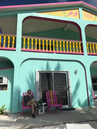 Barefoot Beach Belize: this is the ocean front suite
