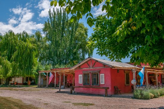 Los Sauces, Argentina: country store and winery