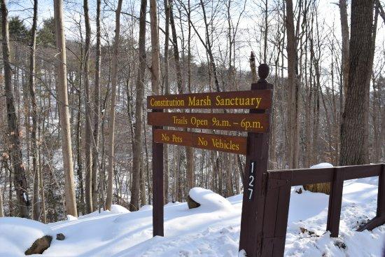 Garrison, Estado de Nueva York: Constitution Marsh Audubon Center and Sanctuary