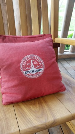 Franklin, TN: Comfy Pillow on Front Porch
