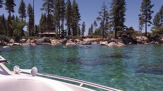 Tahoe Lake Tours: Sand Harbor Cove