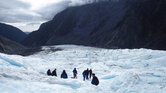 Fox Glacier, Nieuw-Zeeland: glacier view