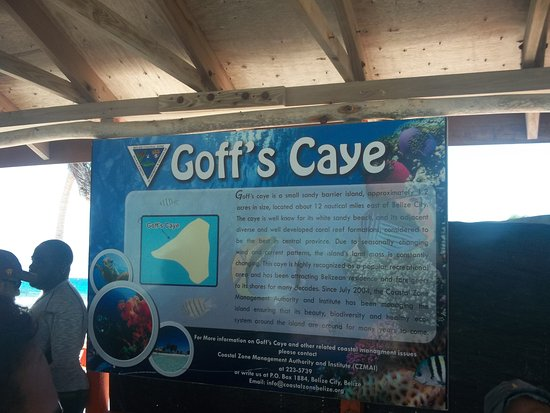 Belize Cruise Excursions - Goff's Caye Beach and Snorkeling Tour : Goff's Caye