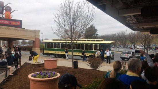 Hershey Trolley Works : The Hershey Trolley Work - A+ Experience!