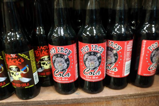 Dalton, OH : Pig Iron Cola only at Lehman's....