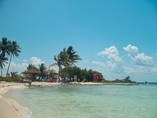 Belize Cruise Excursions - Goff's Caye Beach and Snorkeling Tour : Pretty much the whole Caye