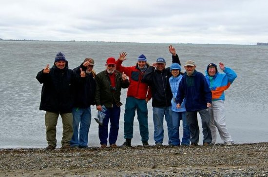 Arctic Ocean and Prudhoe Bay...