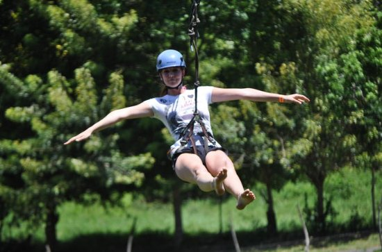 Zipline and Monkey Tour with...
