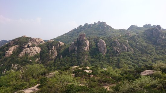 Wulian County, Cina: Wulian Mountain