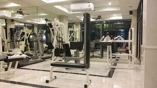 Asoke Residence Sukhumvit: Fitness area
