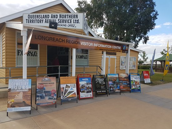‪Longreach Region Visitor Information Centre‬