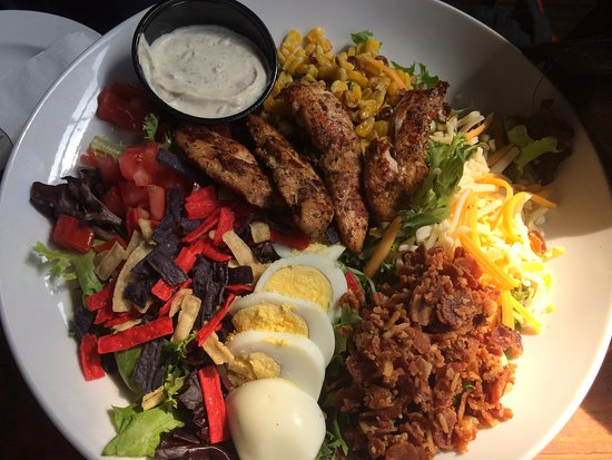 The Starboard: jerked cobb salad