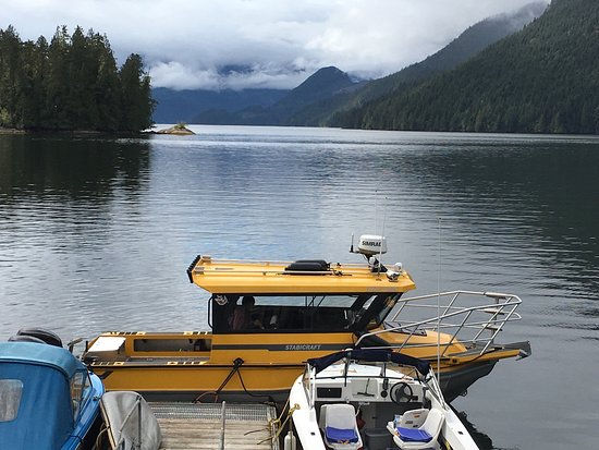 Port Hardy, Canada: The boat, and accessing Great Bear Rainforest