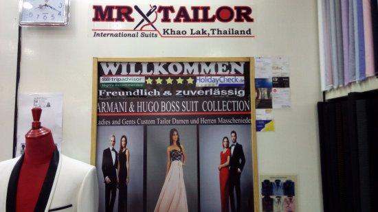 Anzug schneidern khao lak