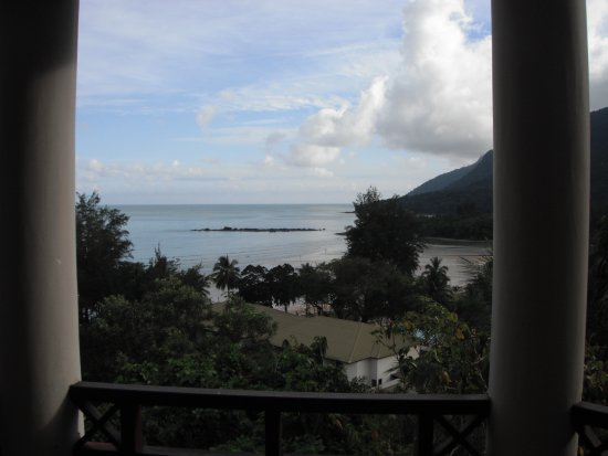 Damai Beach Resort: View from Block 12