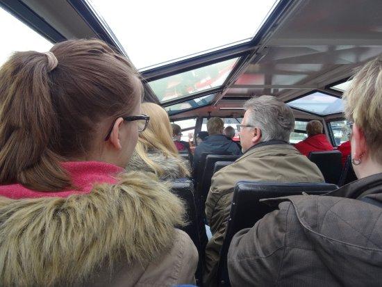 Hafenrundfahrt Emden: im Schiff ....