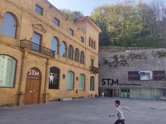San Telmo Museoa: Beautiful Nieto architecture!