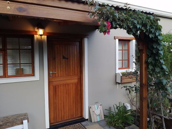 Rheenendal, แอฟริกาใต้: Room entrance