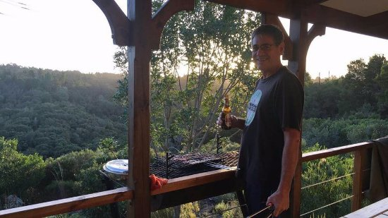 Rheenendal, South Africa: Braai with a view