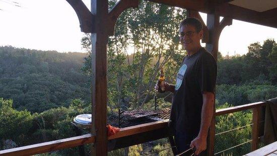 Rheenendal, แอฟริกาใต้: Braai with a view