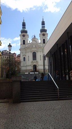Church of St. Mary Magdalene : Вид храма спереди.