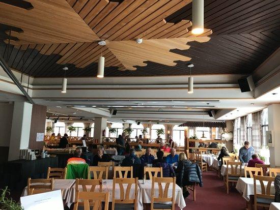 Lapland Hotel Riekonlinna: Dining room