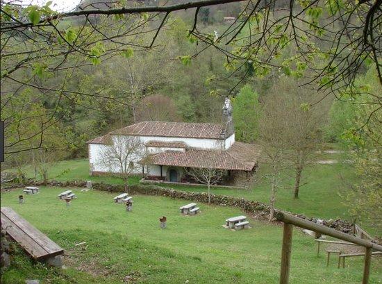 Aller Municipality, Espagne : Ermita de Miravalles