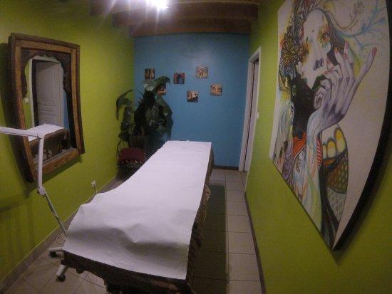 Canohes, Prancis: salle de soins visage
