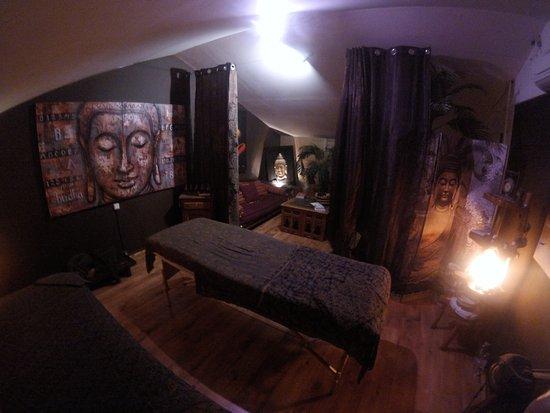 Canohes, Prancis: salle de massages seul ou en duo