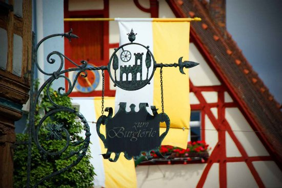 Walldürn, Allemagne : Zum Burgtörle