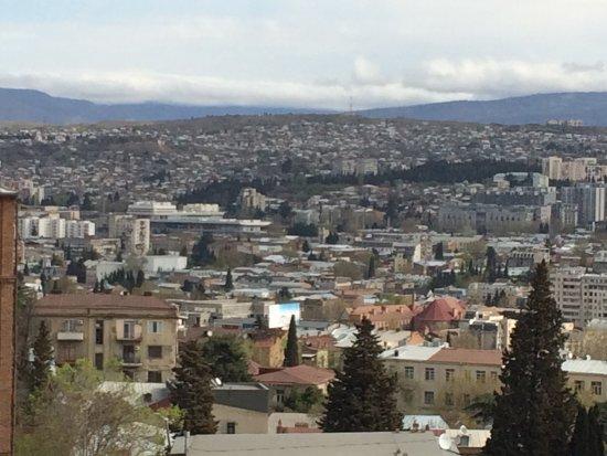 Betsy's Hotel: het uitzicht vanuit mijn kamer