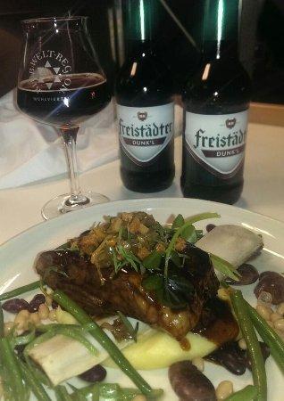 BERGERGUT Loveness & Genussatelier: Top Küche. Super Biervielfalt & Service